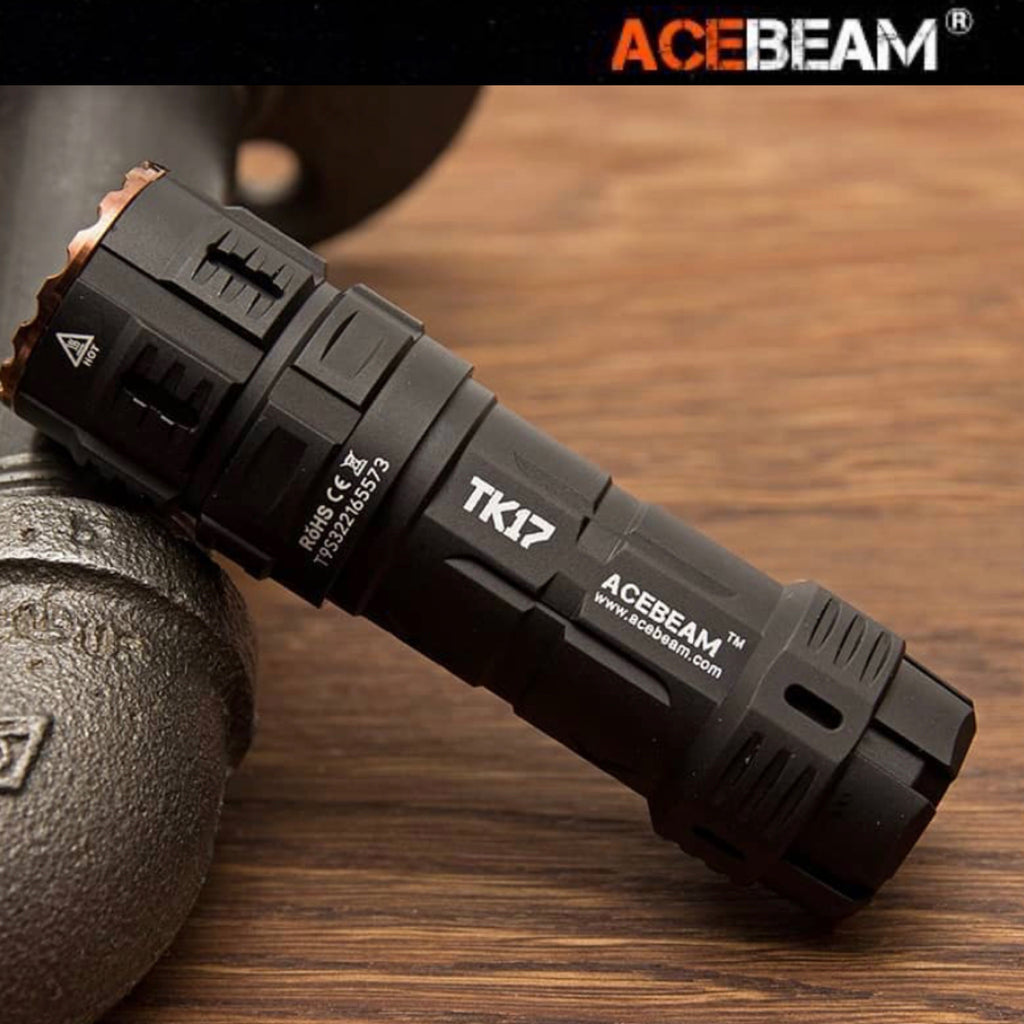 ACEBEAM TK17 AL 2300LMS 5310CD 146M EDC Flashlight CRI90+