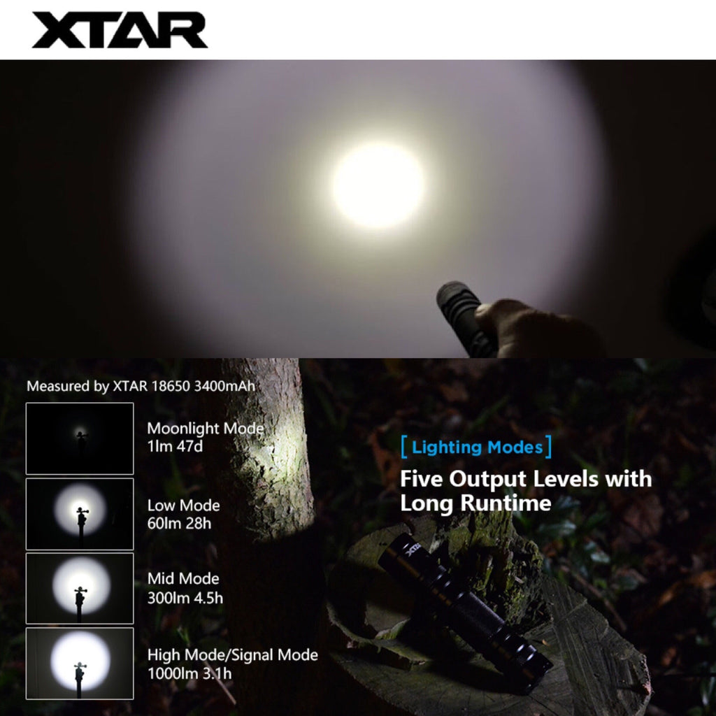 XTAR PACER WK18 EDC Flashlight