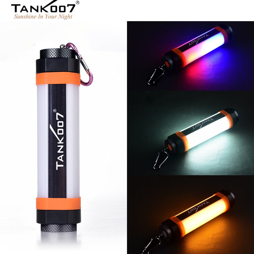 TANK007 KF3 Multi-functional Outdoor Camping Flashlight