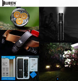 WUBEN TO46R 1000LMS 3306CD 115M CRI90+ Flashlight
