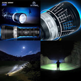 XTAR D35 2800lm 78500cd 560m Diving Flashlight