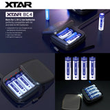 Promotion: XTAR BC4 Charger & XTAR 1.5V Li-ion Battery AA x 4 ก้อน