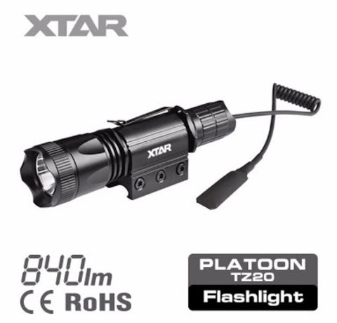 XTAR PLATOON TZ20 Tactical Flashlight
