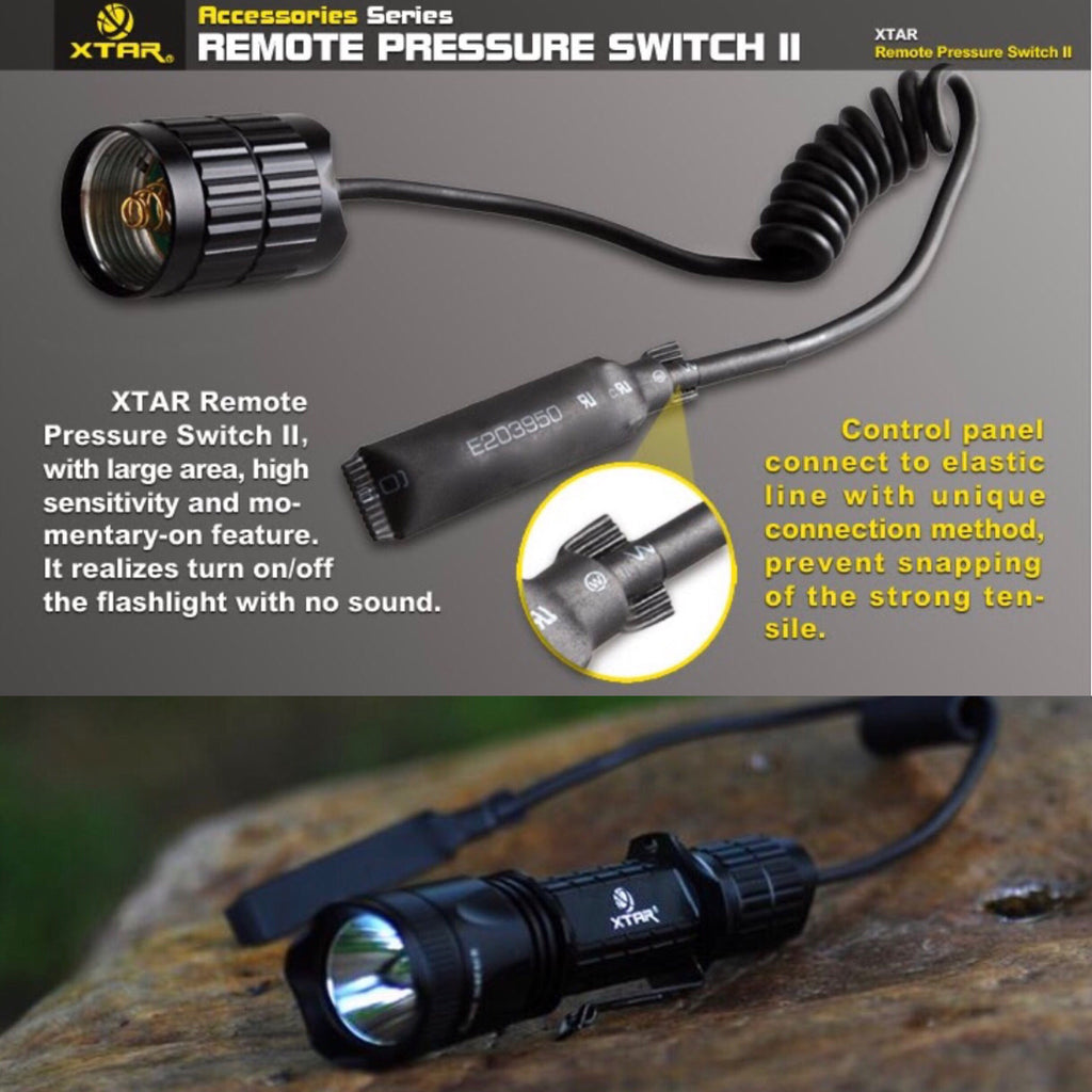 XTAR Tactical Remote Pressure Switch II for XTAR TZ20