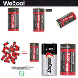 Weltool UB-123A 750mAh 3.0V USB Rechargeable Li-ion Battery