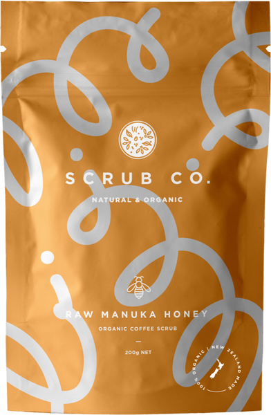 Raw Manuka Honey - Scrub Co.