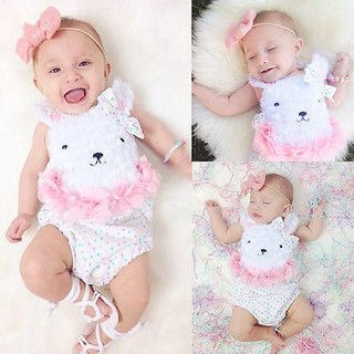 Girls NZ Adorable Rabbit Onesie (0-18 Months)