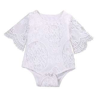 Girls NZ Ruffle Sleeve Onesie (0 - 24 Months)