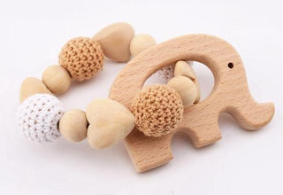 Wooden Teething Bracelet