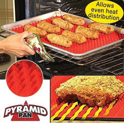 Red Pyramid Nonstick Silicone, Baking and Cooking Mat