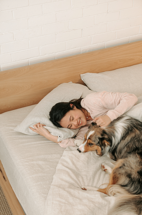 Rough night sleep? It could be your furry friend
