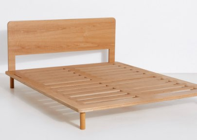 The Eva Timber Bed Base