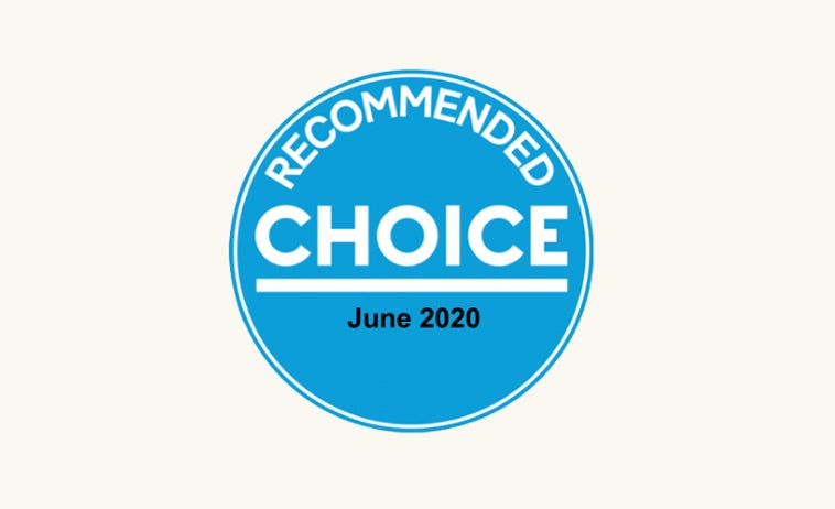 Eva Mattress is tested and recommended by Choice 2020