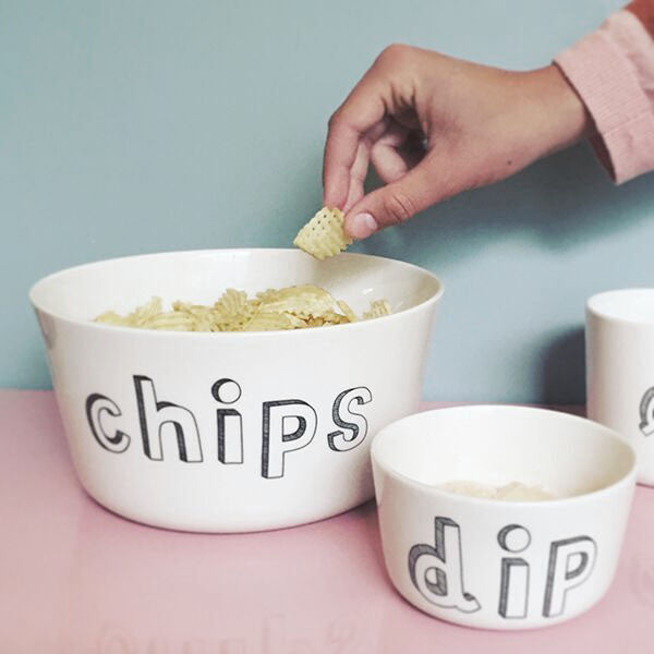 bowl for dip