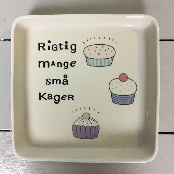 plate for cakes - large