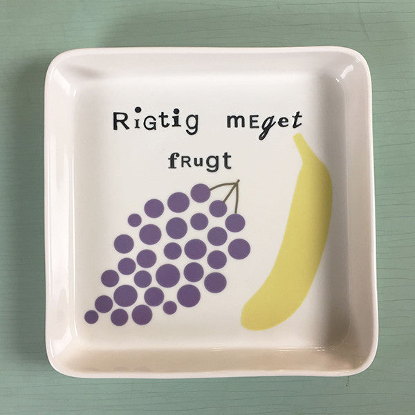 plate for fruit - large