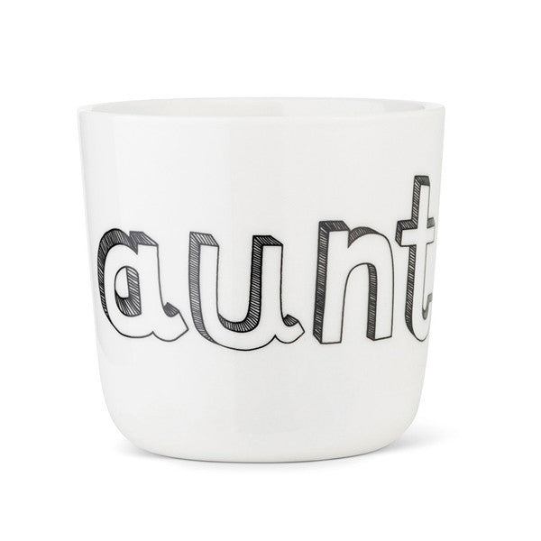 Liebe Family porcelain - Aunt cup