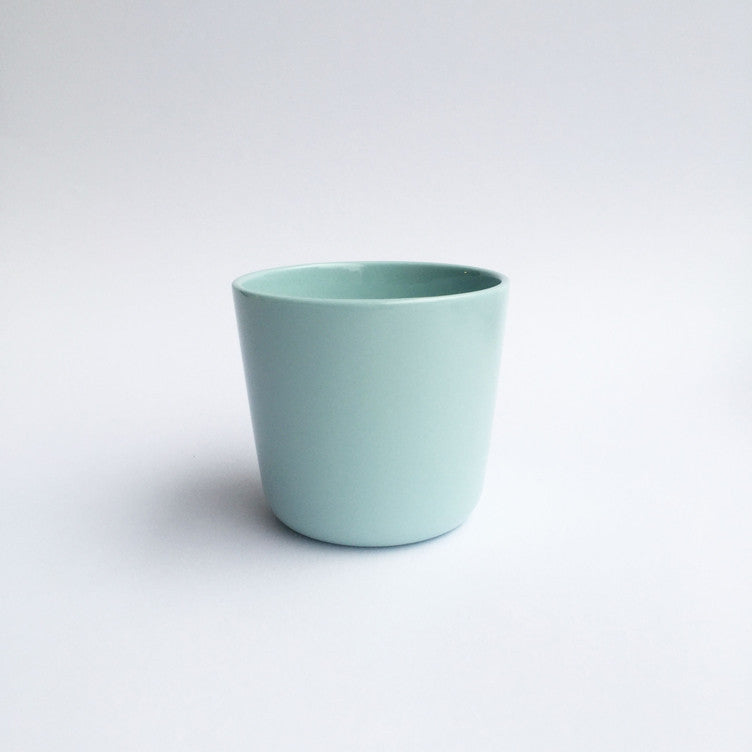 "Small cup with ""alphabet"" letters"