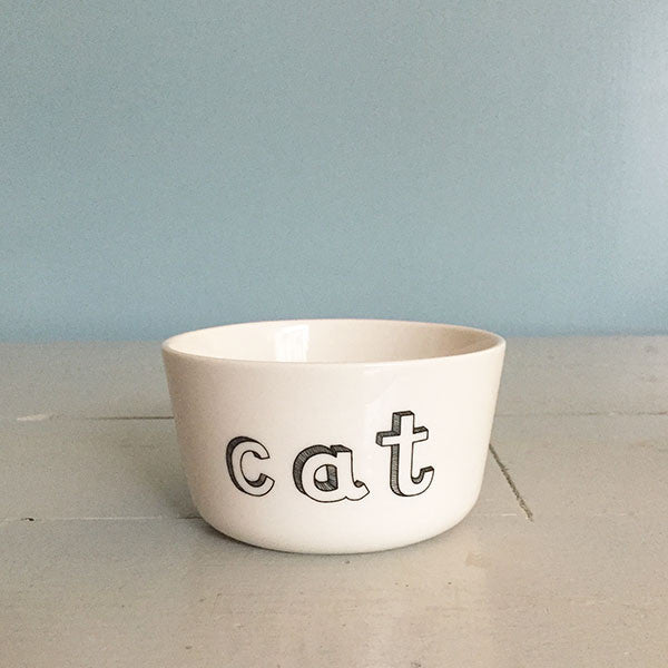 Bowl for the cat