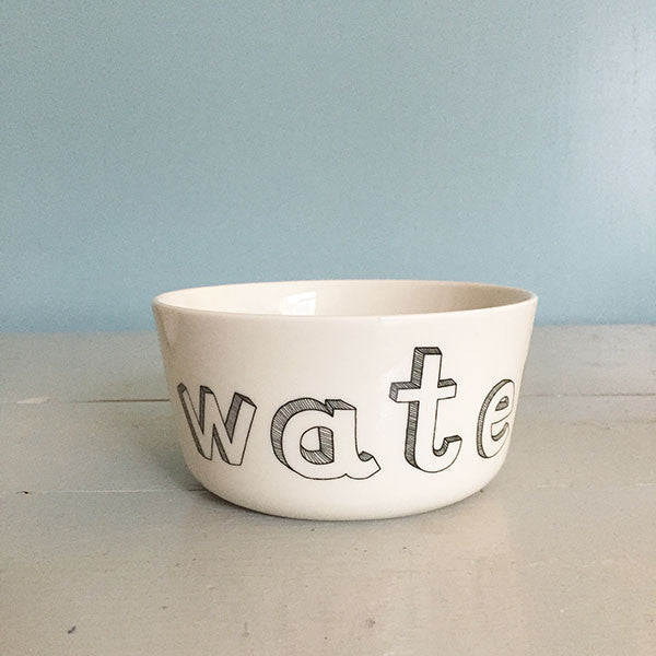 Bowl for water