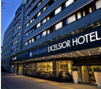 4* Hotel Wyndham Excelsior 3 Nights 1 DBL Room 1 Runner € 393,50 p.P.