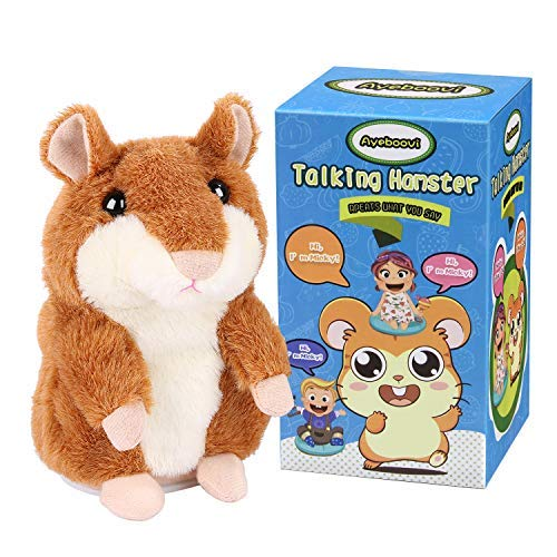 Talking Hamster Repeats What You Say