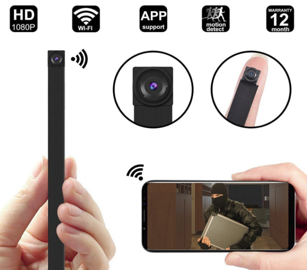 1080P WIFI Spy Hidden Camera module,  Mini WiFi module Camera/Security Camera with WiFi Remote View/Motion Detection for Home/Office. Support iOS/Android/PC