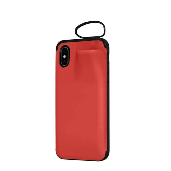 2 in 1 iPhone Case Compatible with Airpods