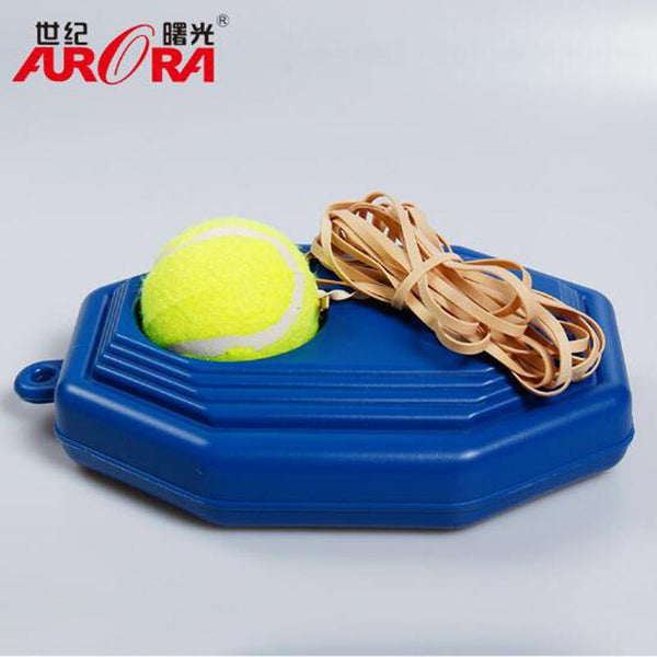 Ultimate Tennis Ball Training Base with A Rope Self-study Tennis Rebound Player with Trainer Baseboard