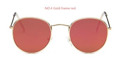 2017 retro round sunglasses women men brand designer