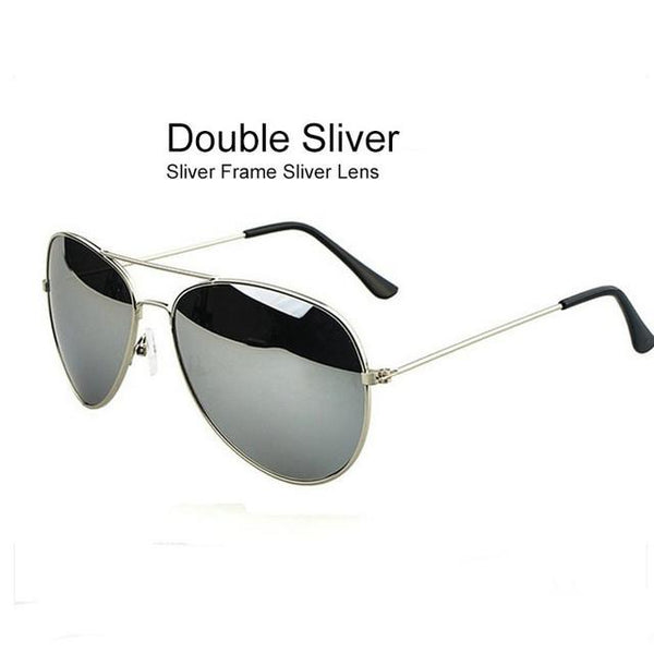 2017 Fashion Mirror Man\Women Pilot  Sunglasses
