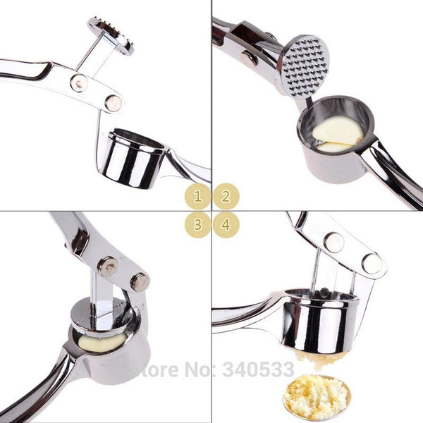Stainless Steel Crusher Garlic Presses