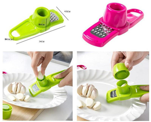 Multi Functional Ginger Garlic Grinding Grater Planer Slicer