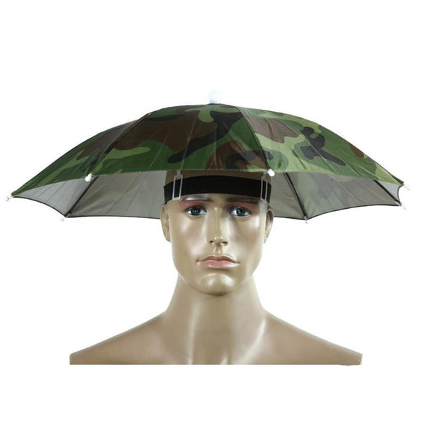 Hatbrella - Hands-Free Umbrella Hat