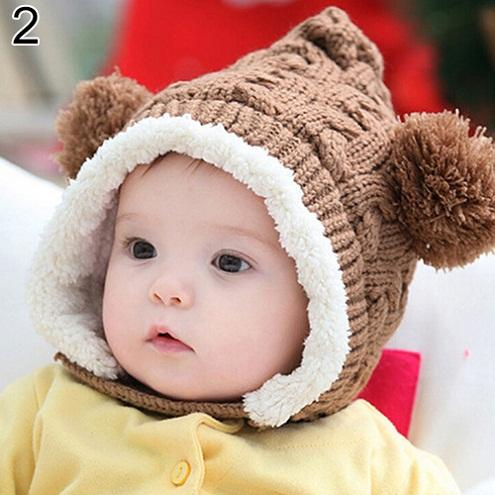 Baby Earmuffs Ball Hat