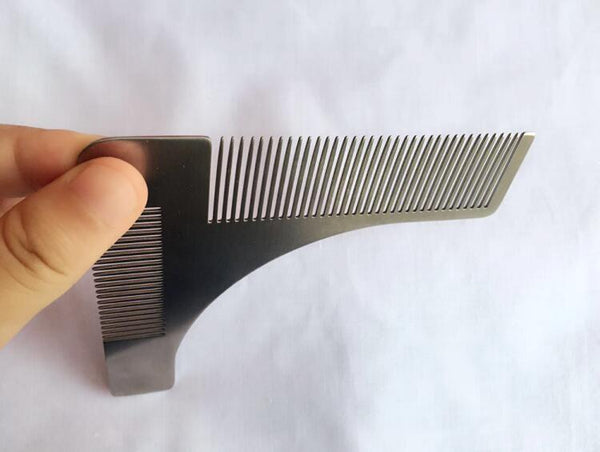 Stainless Steel Beard Shaping Template
