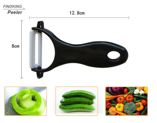 "Brand top quality Christmas present Zirconia Ceramic Knife set 3"" 4"" 5"" 6"" inch+ Peeler+Covers fruit knife set"