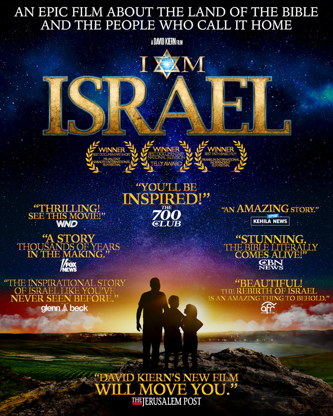 I Am Israel DVD, christian movies, israel documentaries, bible movies, holy land, best selling