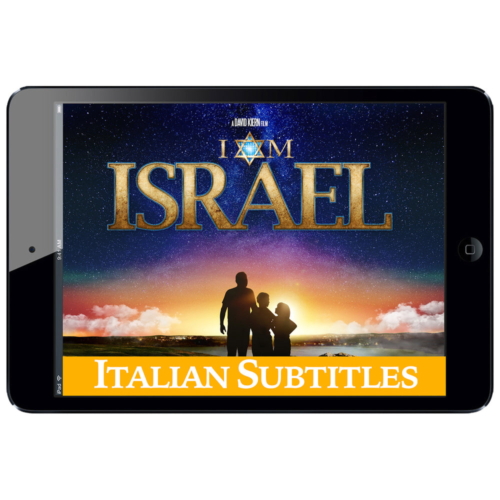 I AM ISRAEL Digital Download - Italian Subtitles