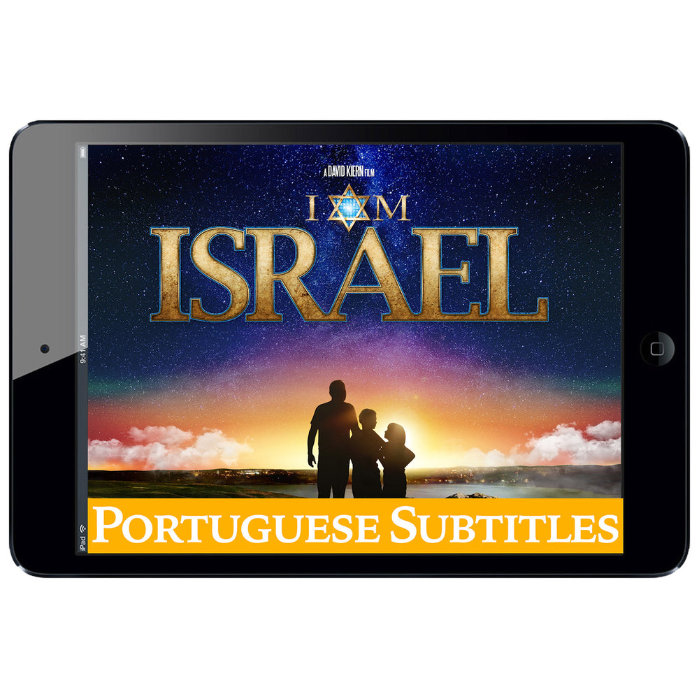 I AM ISRAEL Digital Download - Portuguese Subtitles