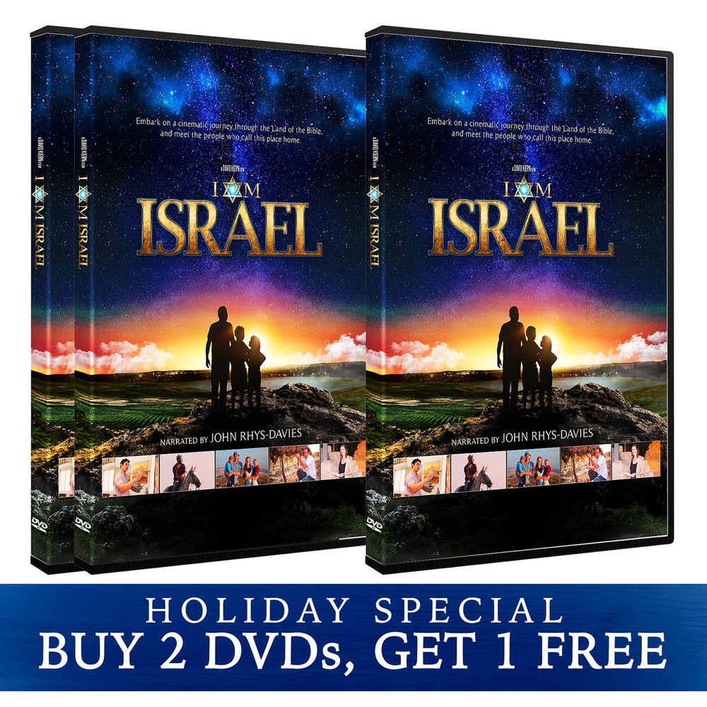 I AM ISRAEL 3-Pack Holiday Special! Buy 2 DVDs, Get 1 FREE
