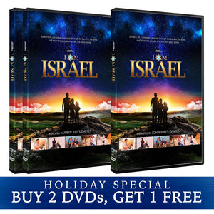 I Am Israel DVD Holiday Special, christian movies, israel documentaries, bible movies, holy land