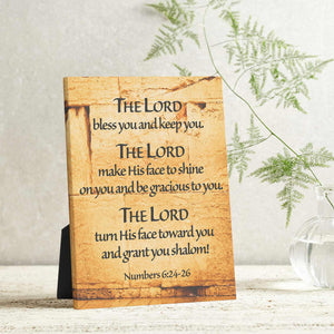 """Priestly Blessing"" Western Wall Jerusalem - 8x10 Tabletop Canvas Art"