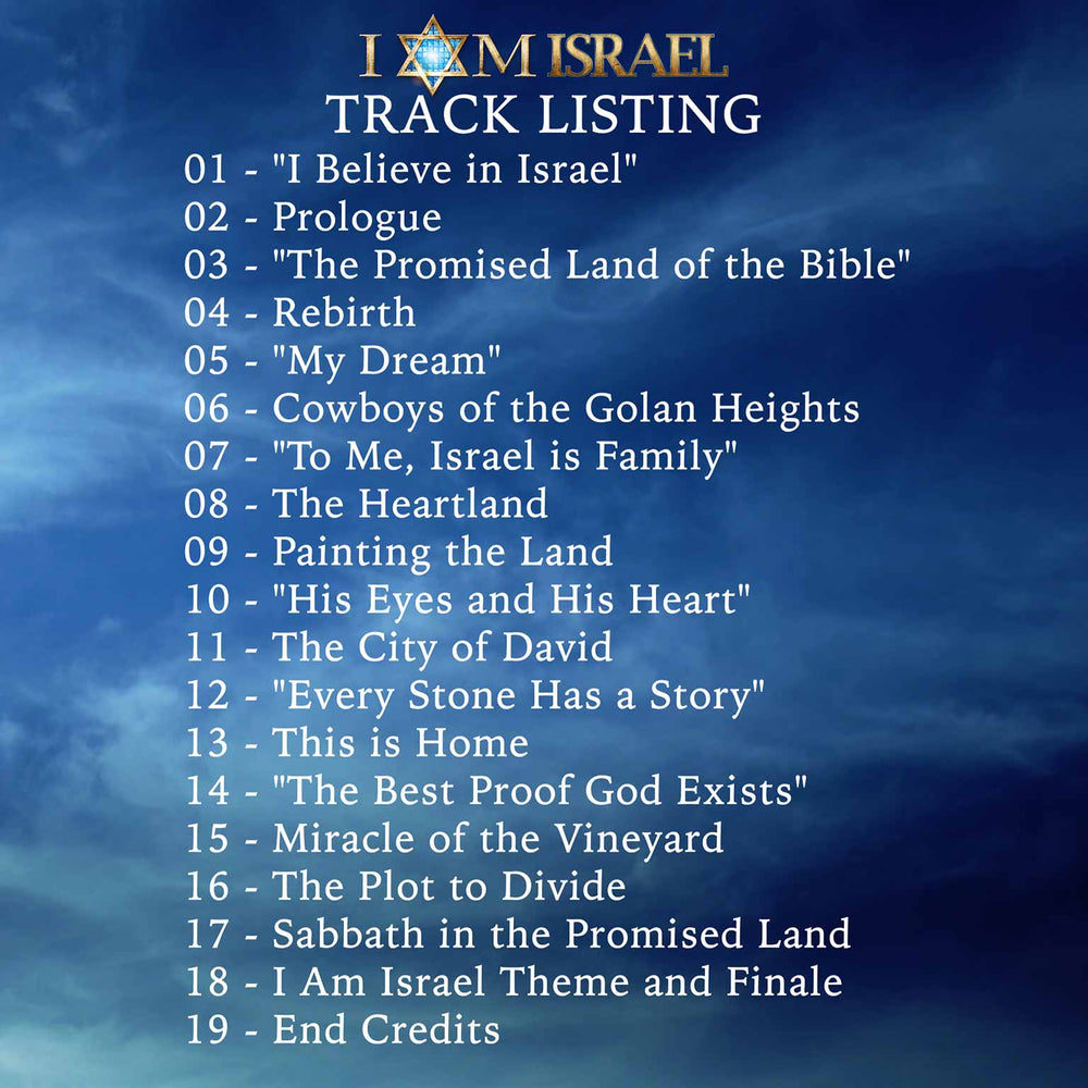 I AM ISRAEL Original Motion Picture Soundtrack - Digital Download