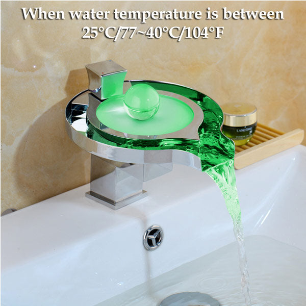LED Faucet color changing to green between 25 - 40C
