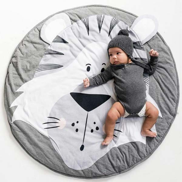 tiger baby play mat