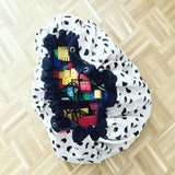 2 in 1 Portable Kids Toy Storage Bag & Play Mat-Storage Bags-Cool Home Styling