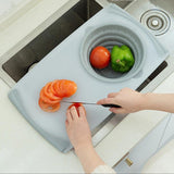 3 IN 1 Multi-Function Collapsible Colander Chopping Board-Chopping Blocks-Cool Home Styling
