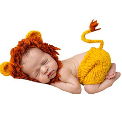 Adorable Handmade Knitted Baby Crochet Outfits-Hats & Caps-Cool Home Styling