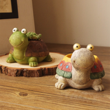 Cute Turtle Succulents Planter-Flower Pots & Planters-Cool Home Styling